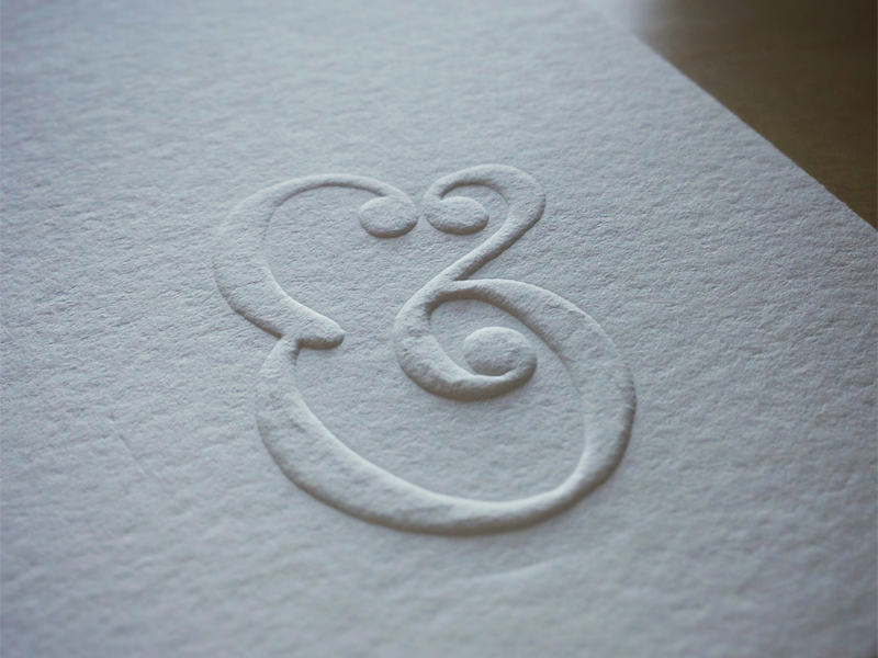 what s the difference between emboss raised print print